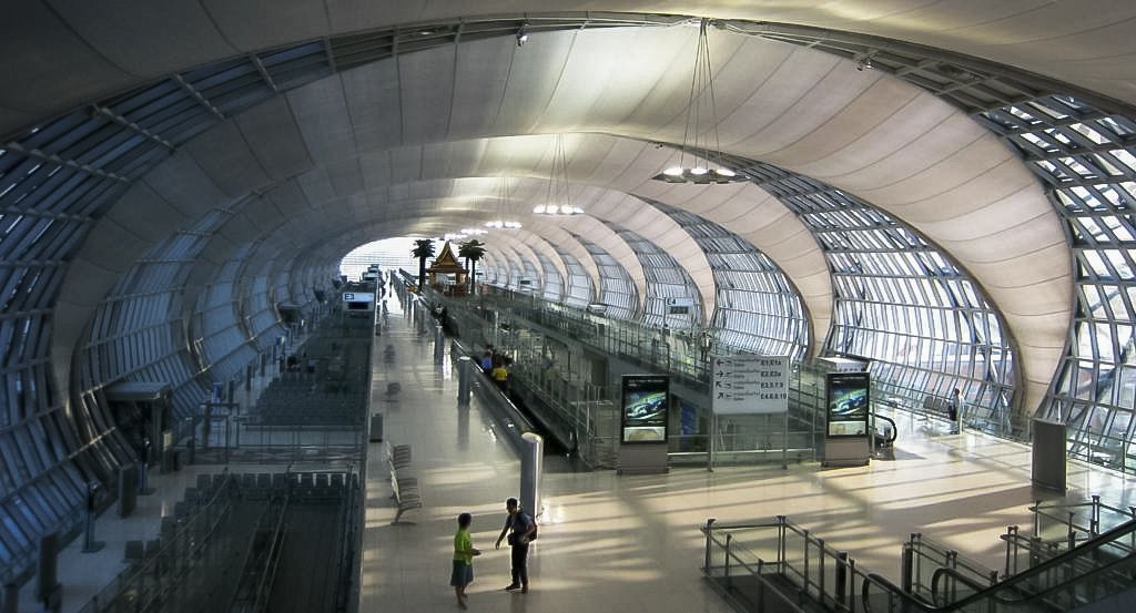 Thailand Suvarnabhumi is One Of The Largest International Airport in South East Asia.