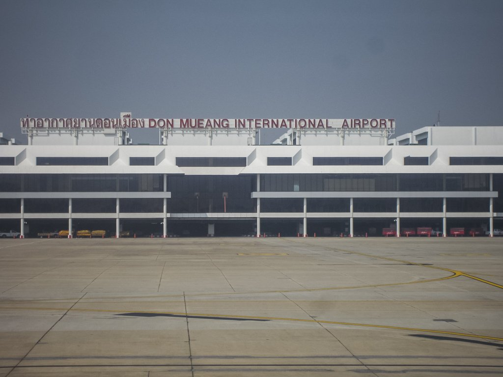 Don Mueang Airport, majorly used for domestic and budget carriers. Serving Internal flights to Phuket/Krabi/Koh Samui