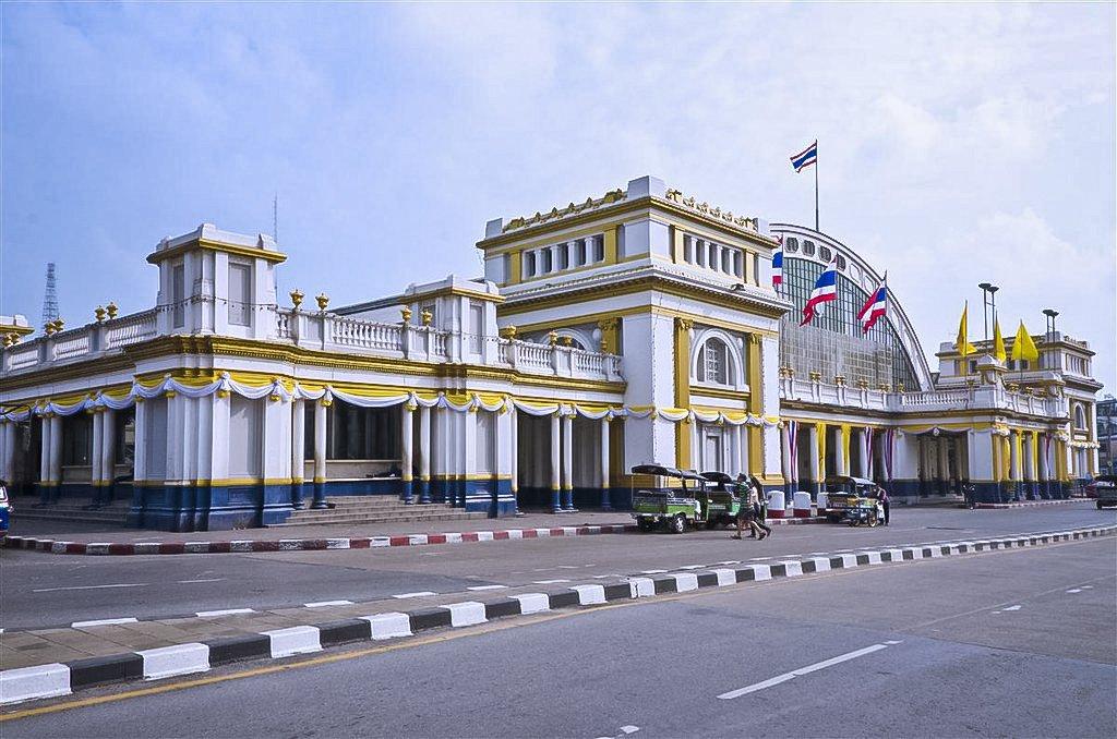 Bangkok Railway Station, Known Also As Hua Lamphong Railway Station