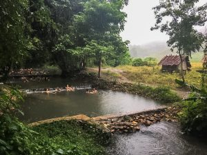 Sai-Ngam-hot-springs at Pai Thailand