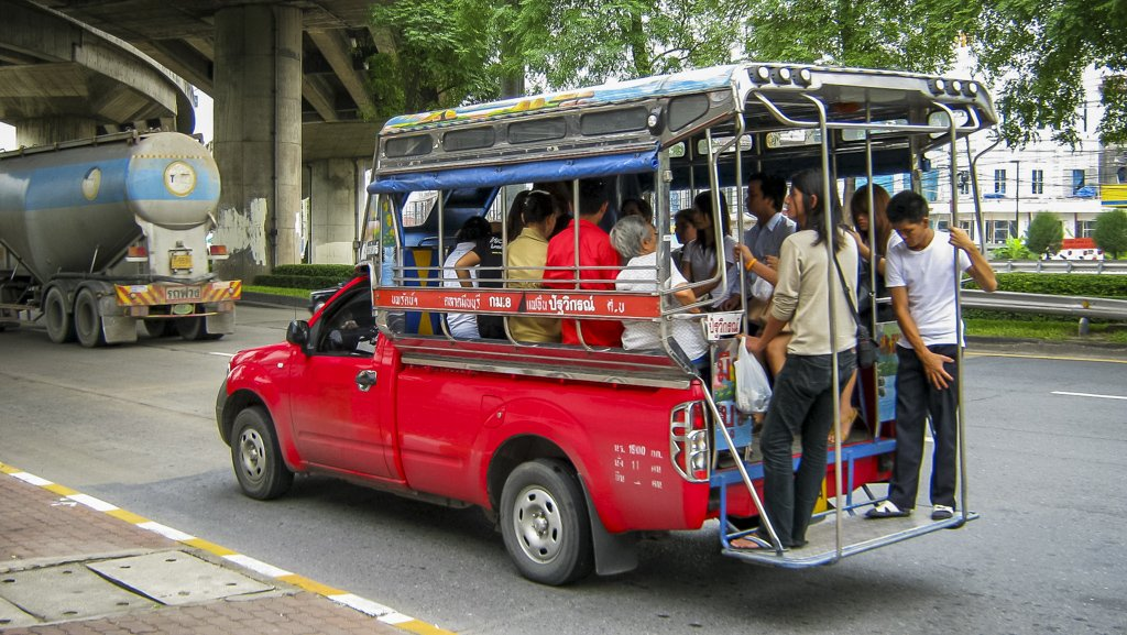 Thailand Local Transport. Songthaew