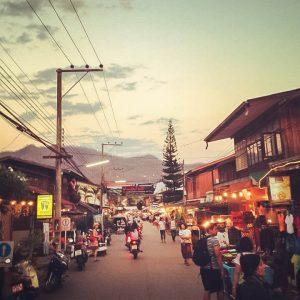 Thailand-Pai-Walking Street
