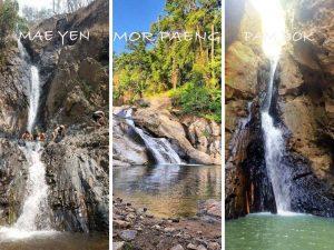 Pai 3 Most Famous waterfalls-Mae Yen/Mor Paeng/Pambok