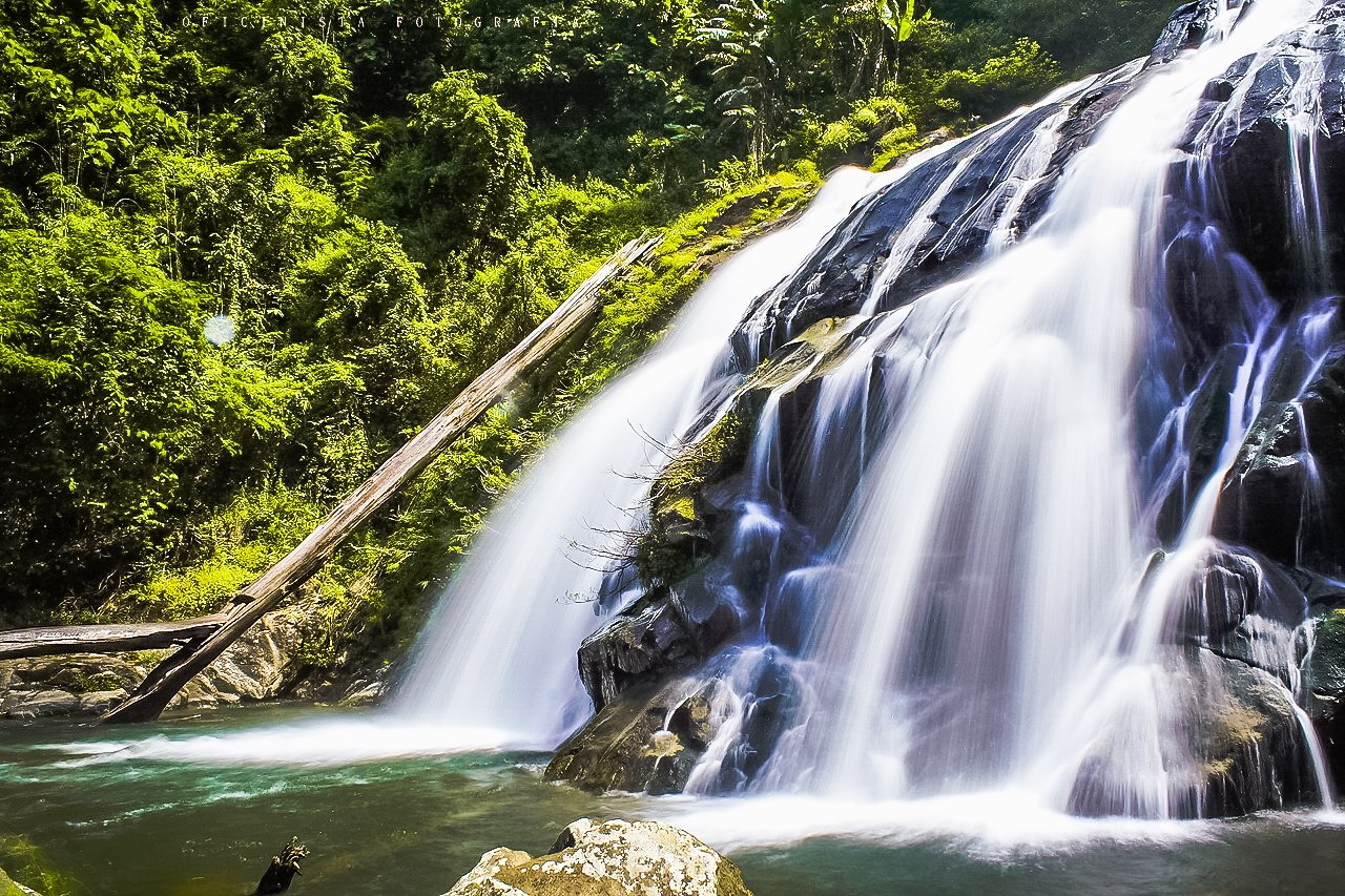 Khao Soi Dao Waterfall behold the natural beauty of the wildlife sanctuary in Chanthaburi.