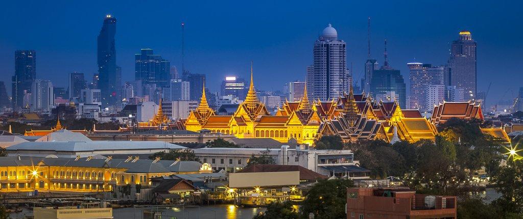 Royal grand palace/Emerald Buddha in Bangkok, Asia Thailand