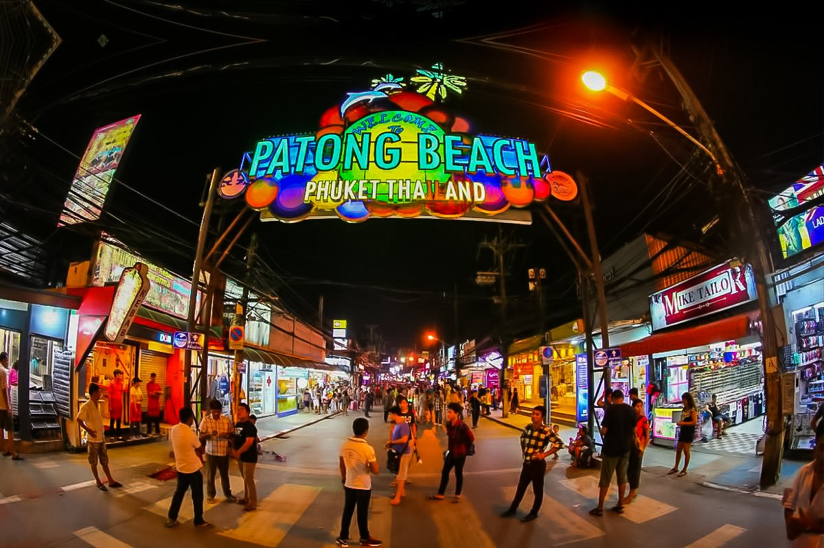 Bangla Road (also called Soi Bangla) is the most popular for Phuket nightlife.