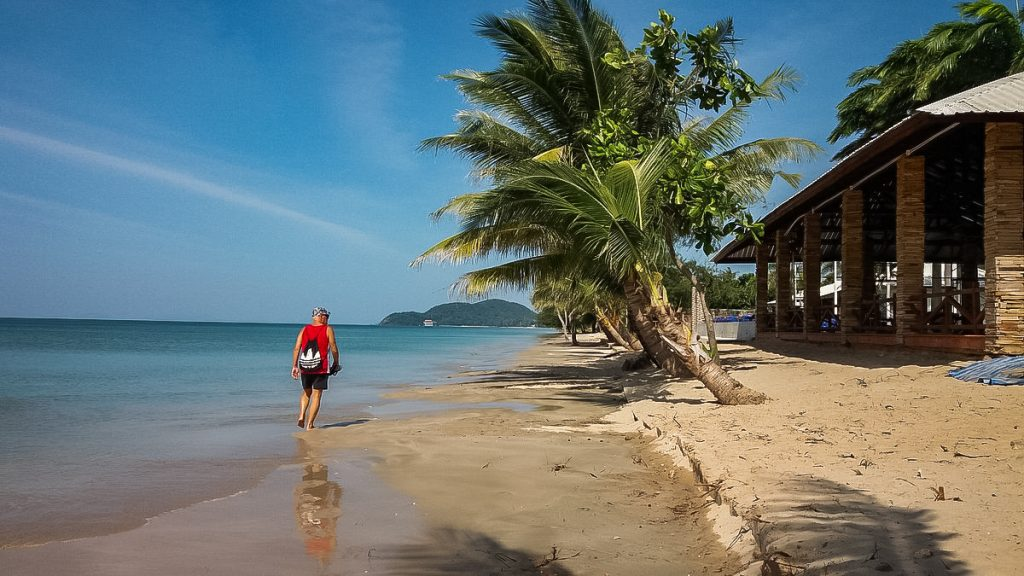 The most popular tourist attraction is Chao LaoBeachwith attractive sea, pure water and peaceful atmosphere.