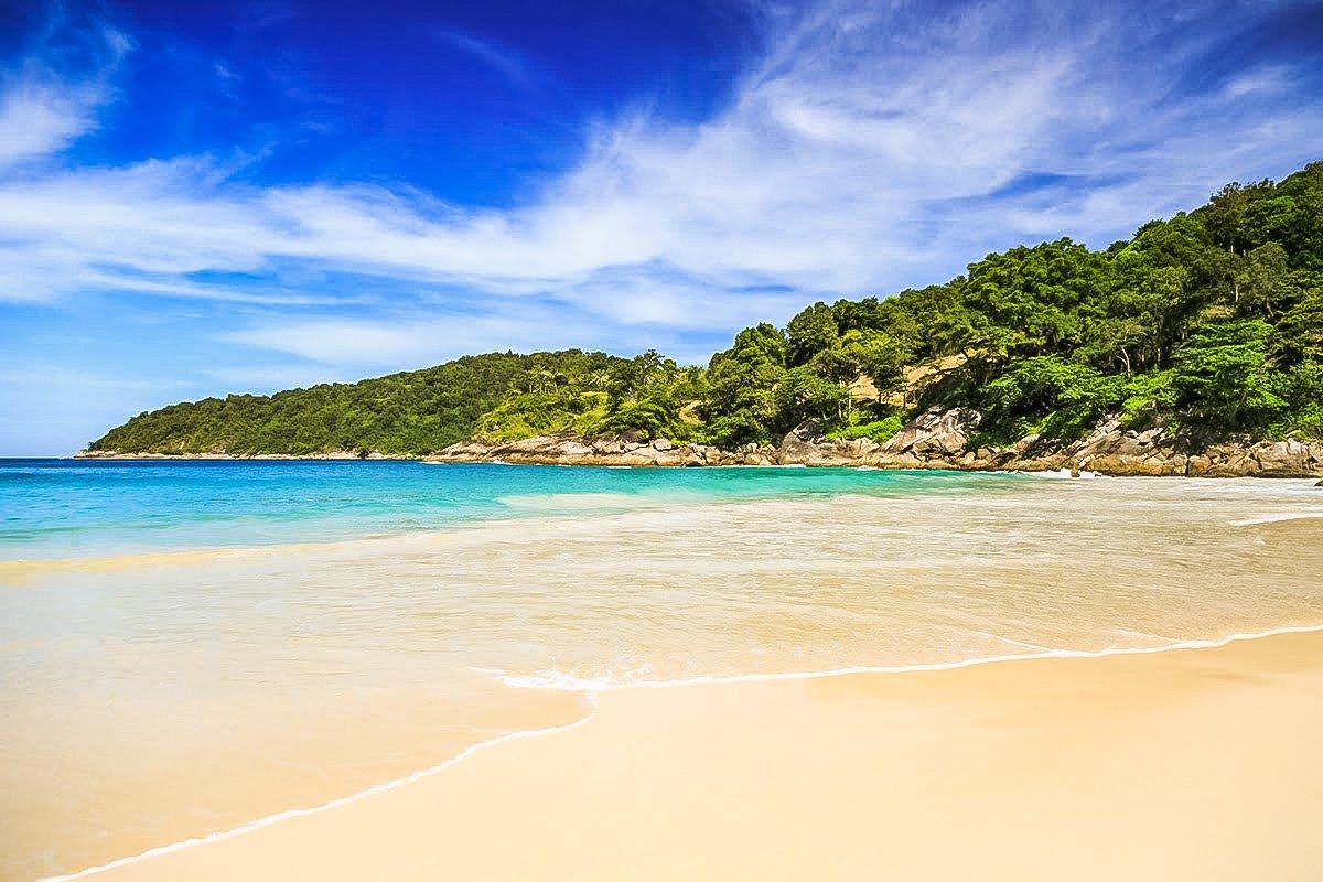 Freedom Beach is hidden Beach Near Patong in Phuket.