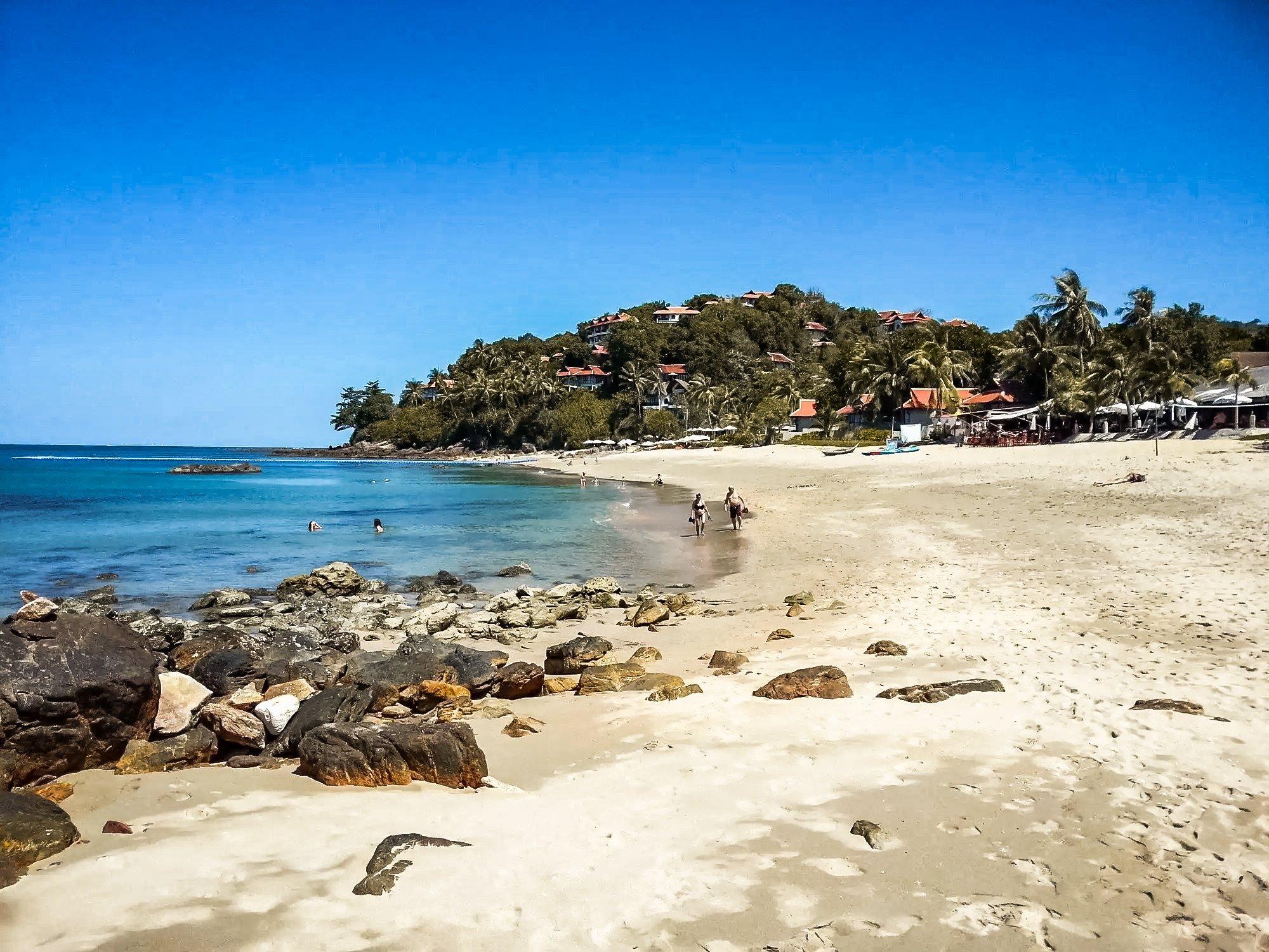 Klong Khong beach in Koh Lanta Thailand.