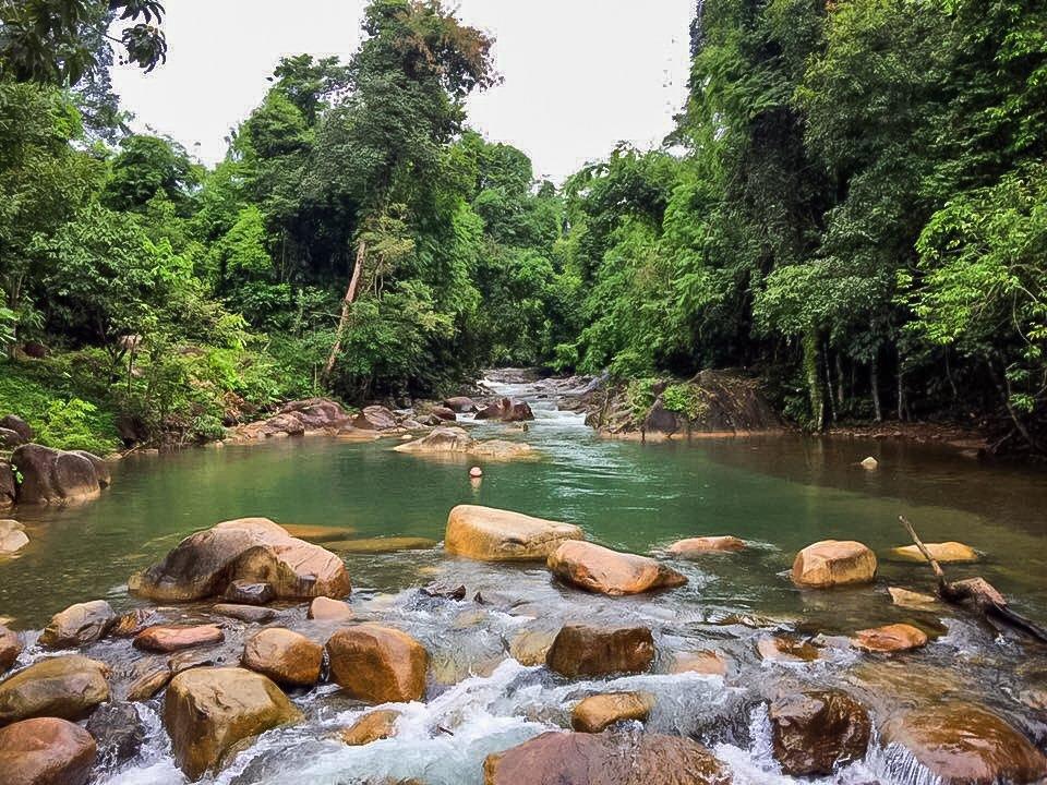 Attrative Klong Piboon Waterfall in Chanthaburi.