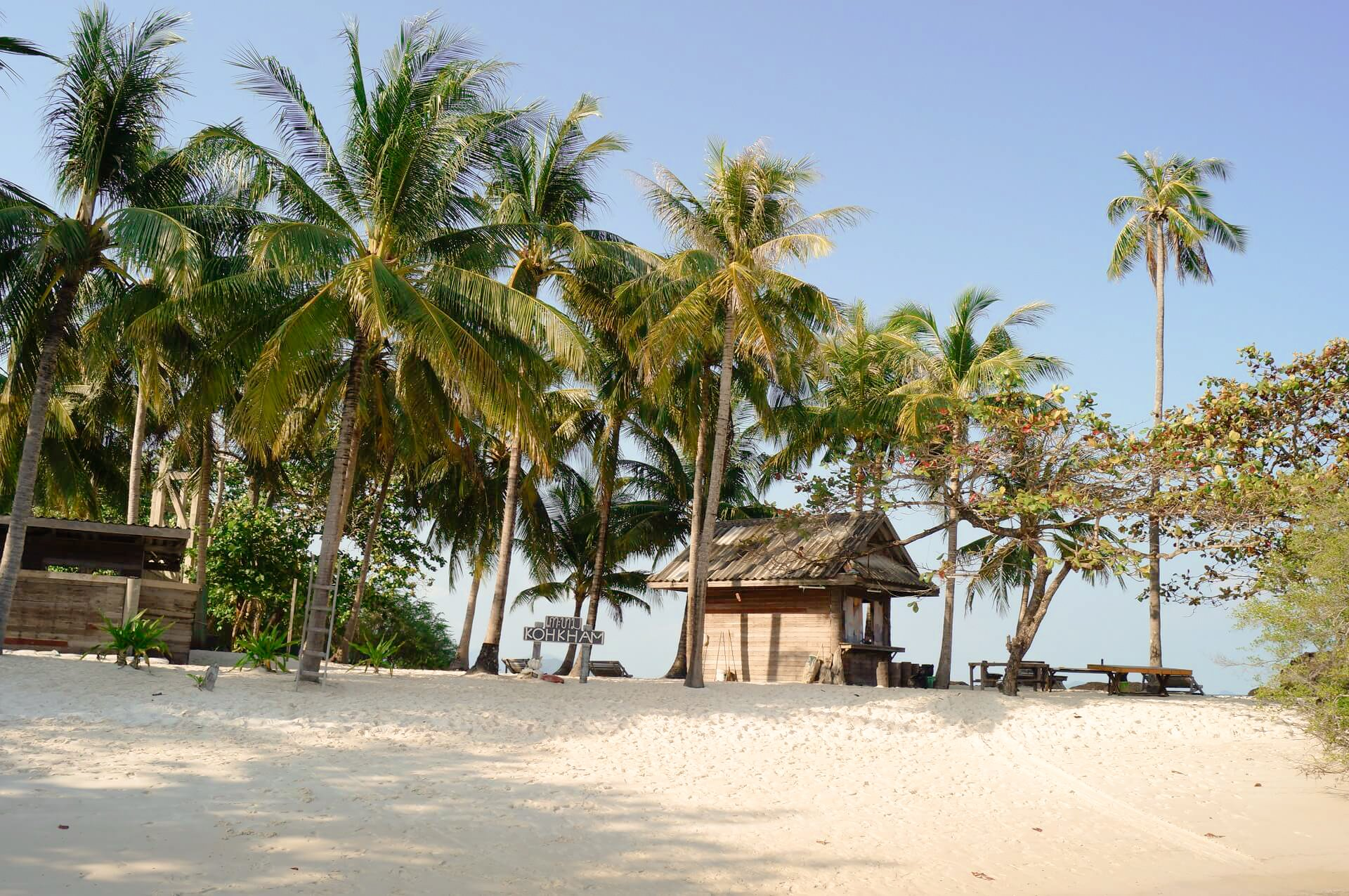 Koh Kham is small island near to Koh Mak that you must visit in Thailand.