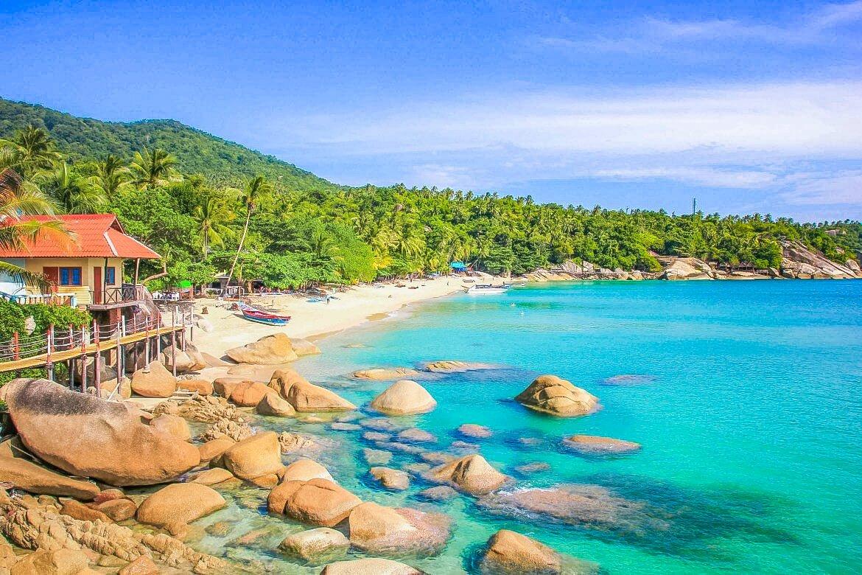 Koh Phangan, Haad Yuan Beach, Thailand.