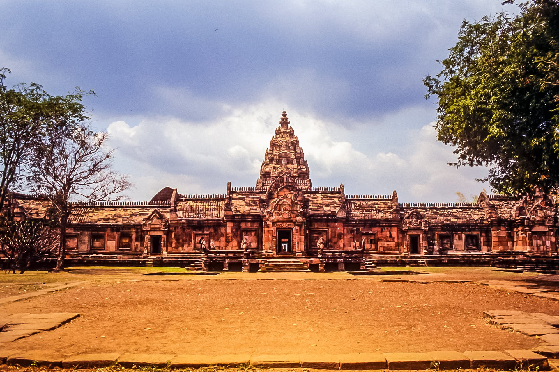 Prasat Hin is ancient temple located in Phanom Rung Historical Park Thailand.