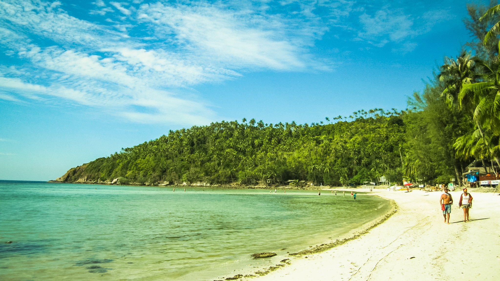 Salad Beach is a secret little haven on Koh Pha Ngan