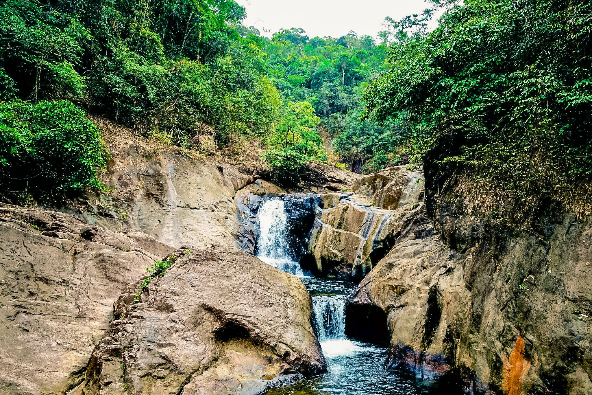 Than Mayom Waterfall is the most famous waterfall in Koh Chang.