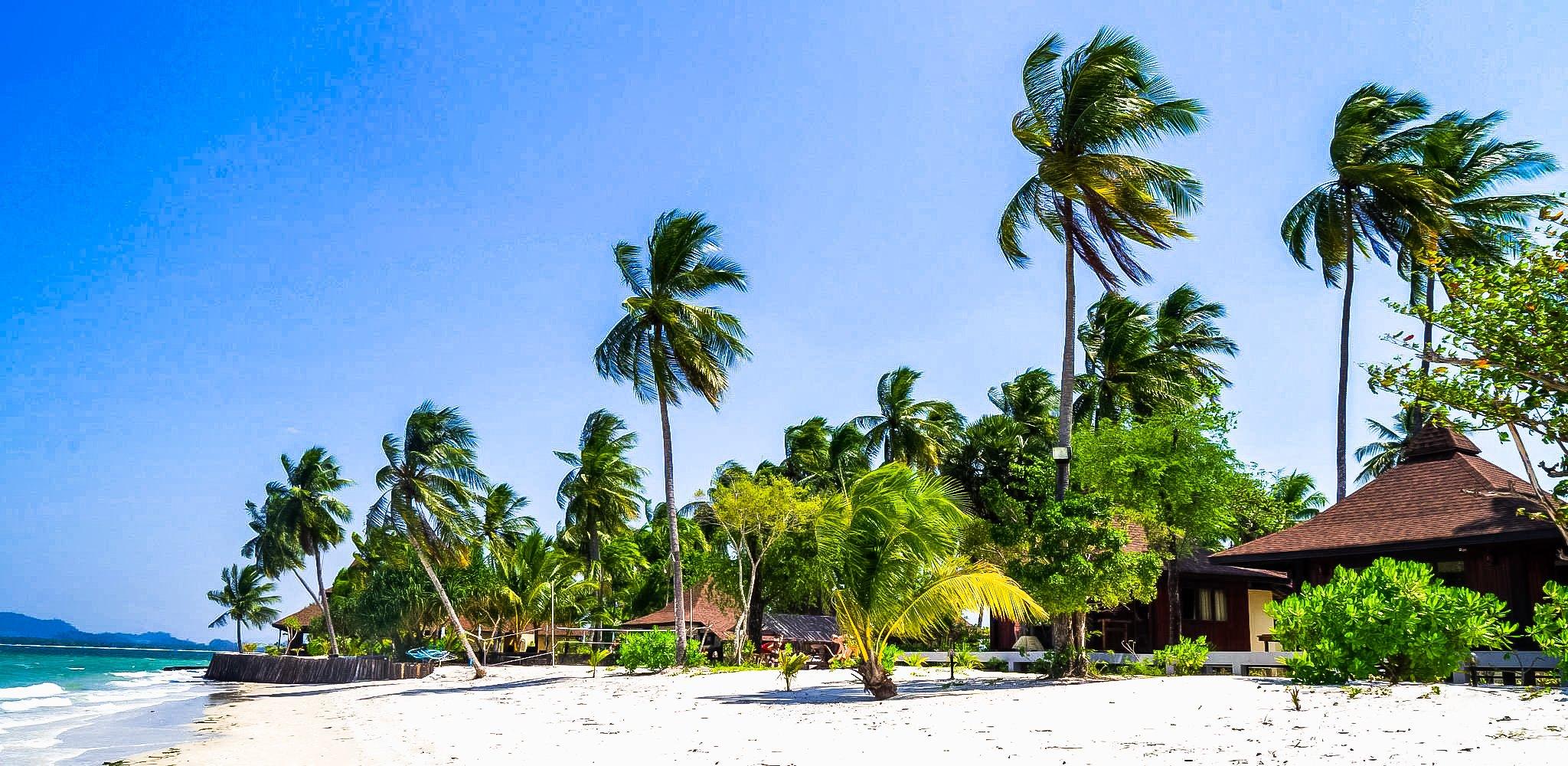 The White Stretch of Muk Kaew & Sai Kaew is beach between Muk Kaew and Sai Kaew.