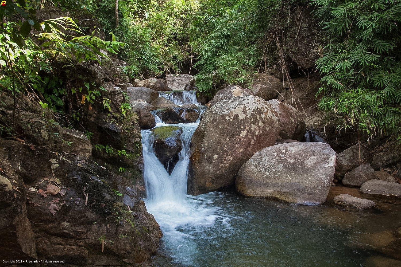 Trok Nong Waterfall is beautiful waterfall nearer by Chanthaburi.