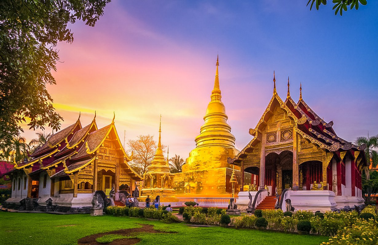 Wat Phra That Doi Suthep, also called Wat Doi Suthep, is a Theravada Buddhist temple in Chang Mai Province, Thailand.