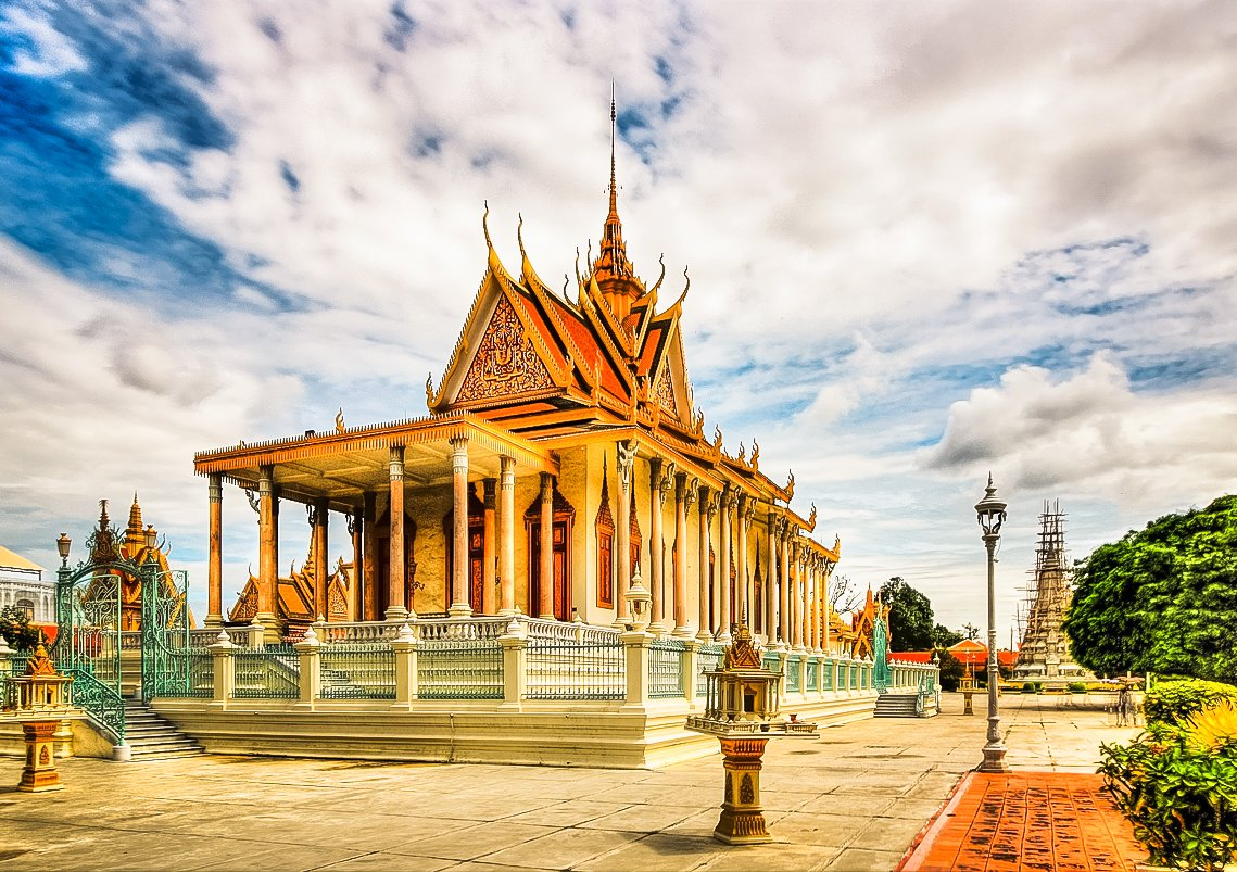 Beautiful Yotha Nimit Temple located in Thailand.